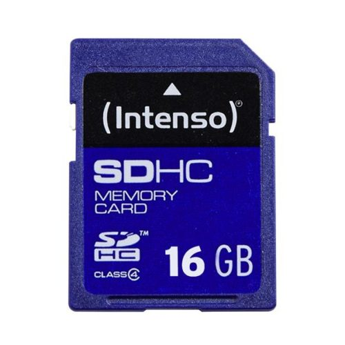 SDHC 16GB Intenso CL4 Blister