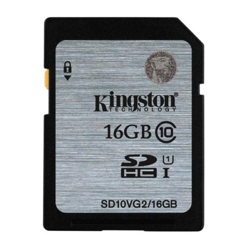 SDHC 16GB Kingston CL10 UHS-I Blister
