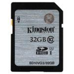 SDHC 32GB Kingston CL10 UHS-I Blister