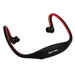 Sport Headset with MP3 Function Red