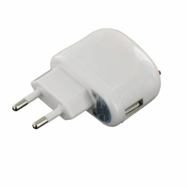 USB AC Charger 1 Amp White