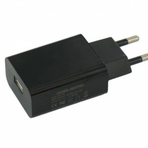 USB AC Charger Black with 2 Amp Output