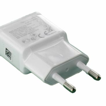 USB AC Charger White with 2 Amp Output