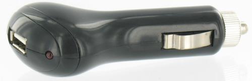 USB Car Charger 1000mAh Black