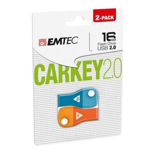 USB FlashDrive 16GB EMTEC CarKey D300 (Blue