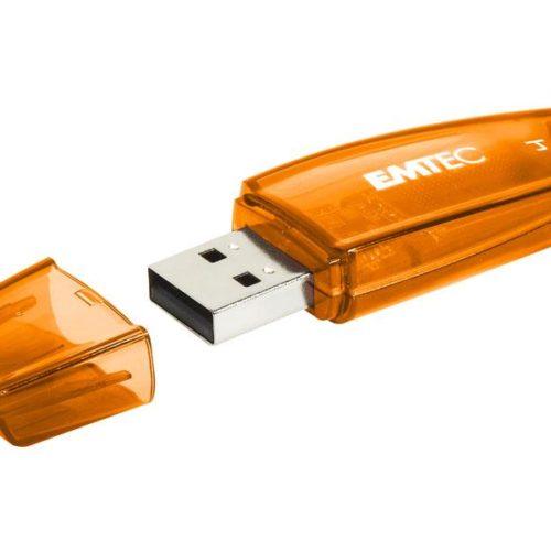 USB FlashDrive 4GB EMTEC C410 (Orange) USB 2.0