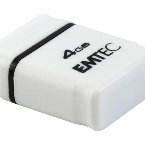 USB FlashDrive 4GB EMTEC S100 (White)