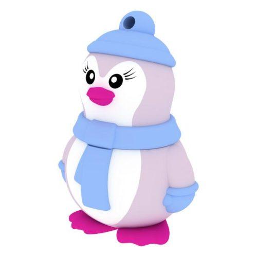 USB FlashDrive 8GB EMTEC Blister Animalitos (miss-penguin)