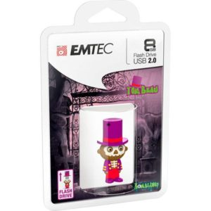 USB FlashDrive 8GB EMTEC Zomblings (M342-Tom Beau)