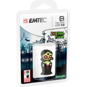 USB FlashDrive 8GB EMTEC Zomblings (M344-Morticia)