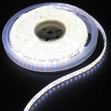 White to Warm White set 120led 7-8 lumens white pcb 5m IP65