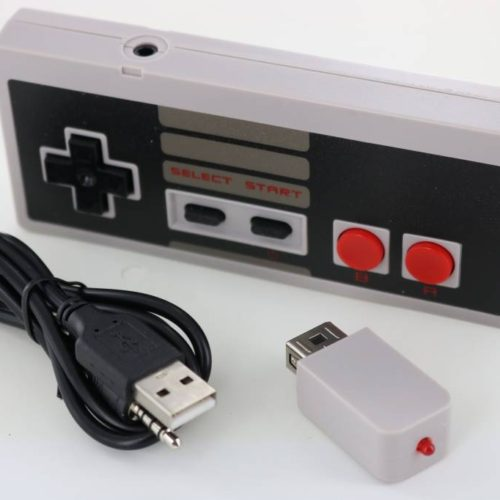 Wireless Controller with Battery for Mini NES