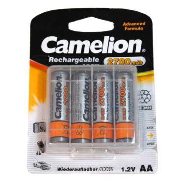 rechargeable batteries Camelion AA Mignon 2700mAH + Box (4 Pcs)