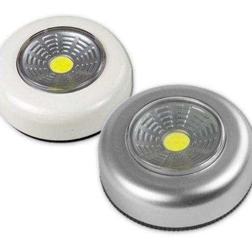 Arcas COB Push Light (50 Lumens) Weiss