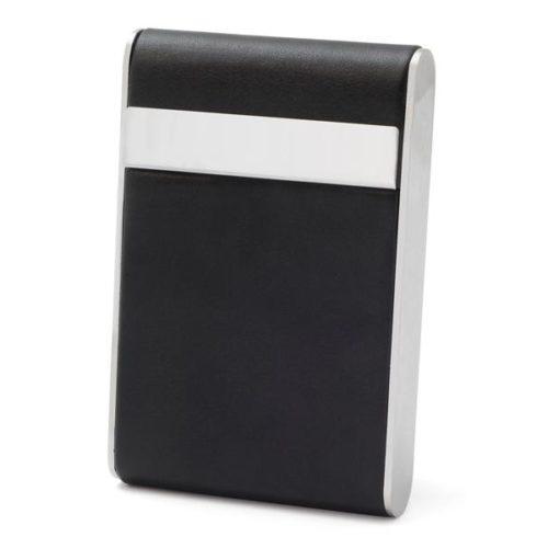 Case for 7 cigarettes - Leather Imitation (Black #7)