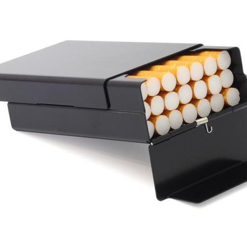 Case for cigarettes - Aluminium (Black)