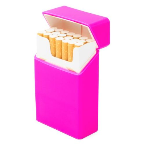 Case for cigarettes - Silicon (Pink)