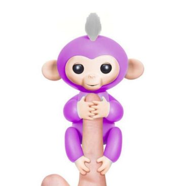 Happy Monkey Fingerlings - Purple