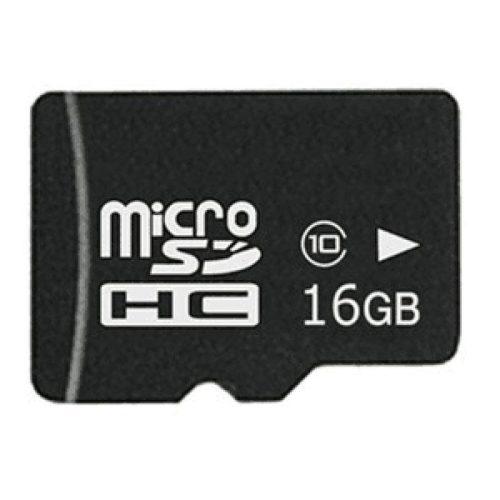 MicroSDHC 16GB CL10 + Adapter Minicase