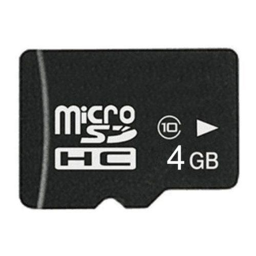 MicroSDHC 4GB CL10 + Adapter Minicase