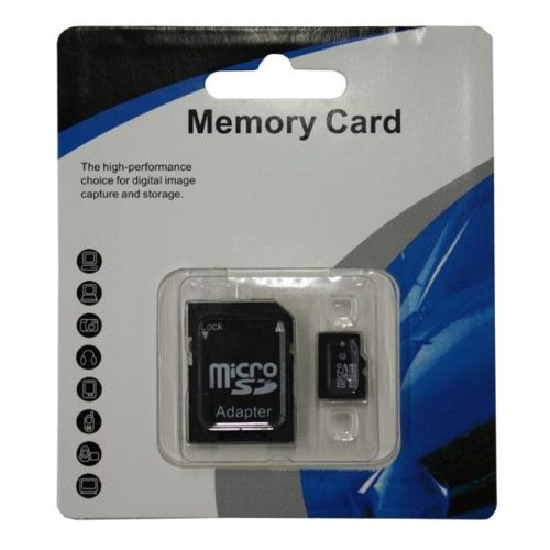 MicroSDHC 8GB CL10 + Adapter Blister