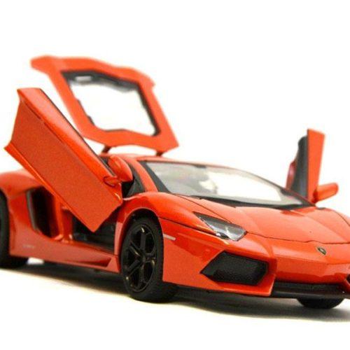 RC Car Lamborghini Aventador LP 700-4 124 (Orange)