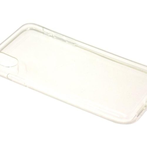 Silicone Case for iPhone X Clear (0.7 mm)