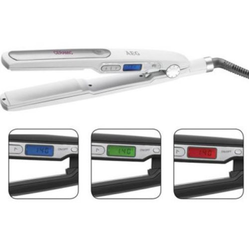 AEG Hair straightener HC 5585 white