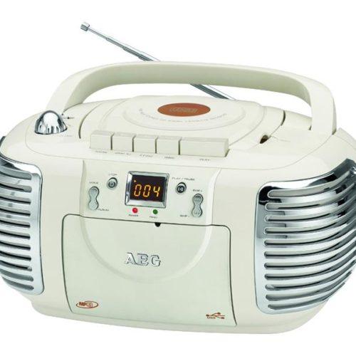 AEG Stereoradio with CD NSR 4377 (creme)