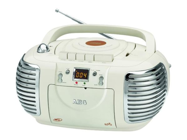AEG Stereoradio with CD NSR 4377 (creme)