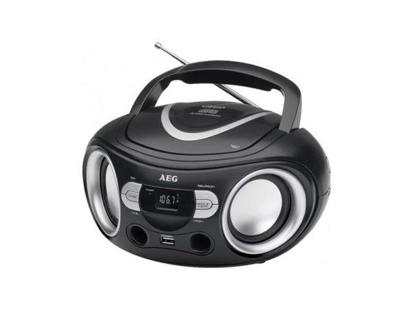 AEG Stereoradio with CD SR 4374 (black)