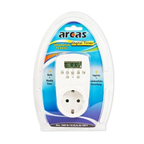 Arcas Digital Timer TS-ED201 (White)