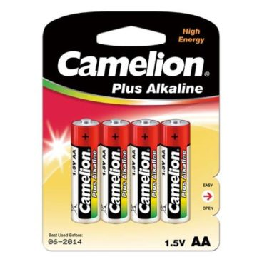 Batterie Camelion Alkaline LR6 Mignon AA (4 pieces)