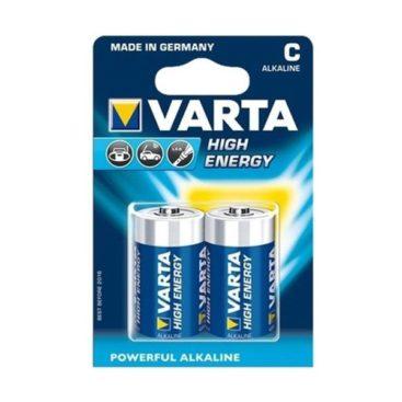 Batterie Varta Alkaline HighEnergy Baby C LR14, 1,5V (2 pcs)