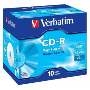 CD-R 90 Verbatim 40x DL 10er Jewel Case 43428