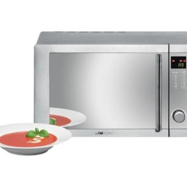 Clatronic MWG 775 H Microwave with Grill and Convection 23L Steel