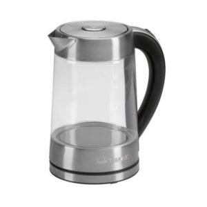 Clatronic electric glass kettle WK 3501 G inox