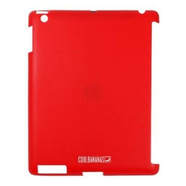 Cool Bananas silicone protective cover SmartShell for iPad (red)