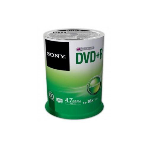 DVD+R 4.7GB Sony 16x 100er Cakebox 100DPR47SP