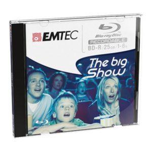 EMTEC Blu-ray Disc 25GB rewritable - 5stk Jewel Case
