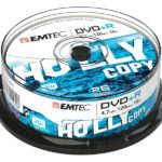 EMTEC DVD+R 4,7 GB 16x Speed - 25pcs Cake Box