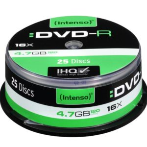 Intenso DVD-R 4,7 GB 16x Speed - 25pcs Cake Box