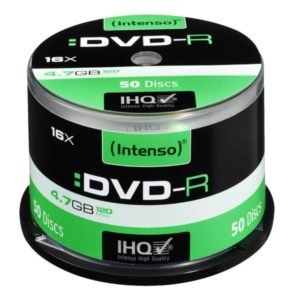 Intenso DVD-R 4,7 GB 16x Speed - 50pcs Cake Box