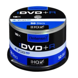 Intenso DVD+R 4,7 GB 16x Speed - 50pcs Cake Box