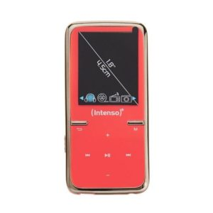 Intenso MP3 Videoplayer 8GB - Video SCOOTER Pink 1,8 Inches