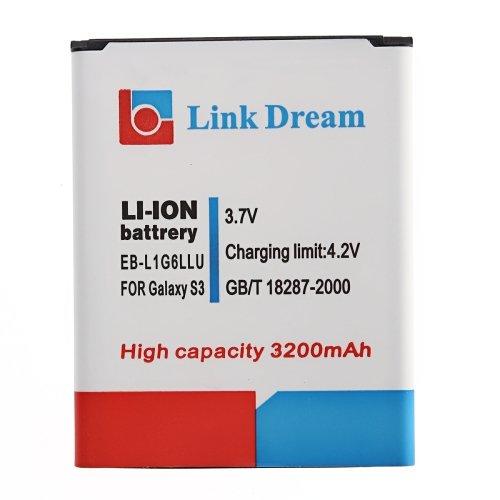 Link Dream Battery for Samsung S3 like EB-L1G6LLU i9300 2300mAh