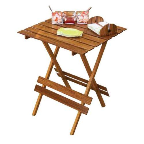 MK Bamboo HELSINKI - Foldable Table 60x60cm