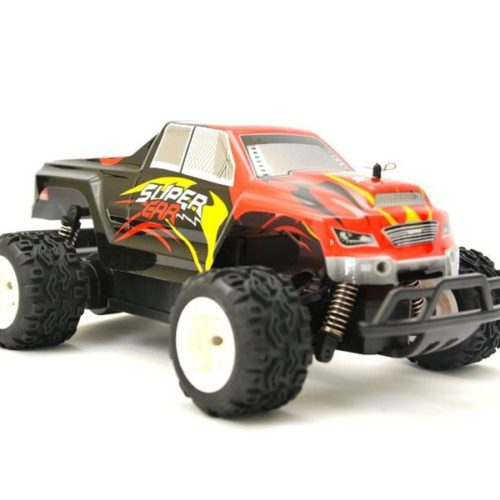 RC Monster Truck 124 - SUPER CAR WL Toys L343 (Red, LiPo + 2,4Ghz)