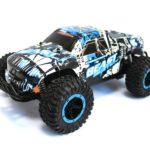 RC Monster Truck CHEETAH KING Beast 116 2.4G (black-white-blue)
