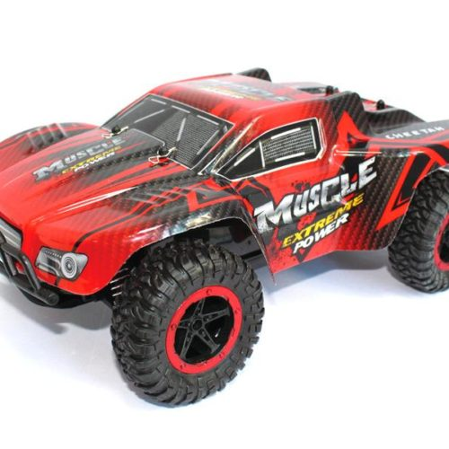 RC Monster Truck CHEETAH KING Muscle 2.4Ghz (red)